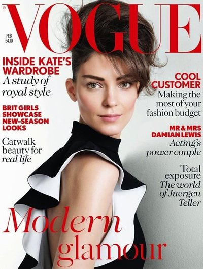 Kati Nescher - Ph: Patrick Demarchelier for British Vogue Feb 2013