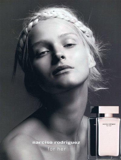 Carmen Kass - PH: Inez van Lamsweerde and Vinoodh Matadin for Narciso Rodriguez For Her Fragrance Contract