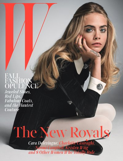 Cara Delevingne - Ph. Inez & Vinoodh for W Magazine