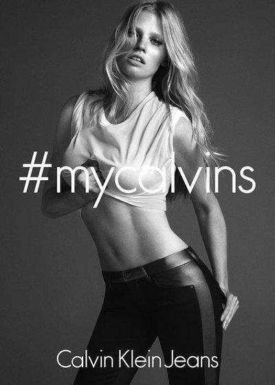 Lara Stone - Photo: Mert & Marcus for Calvin Klein Underwear 2014