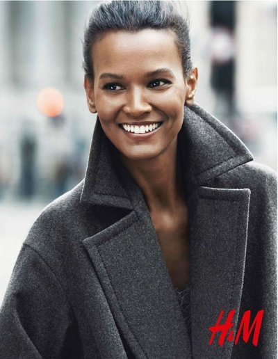 Liya Kebede - Ph: Jonas Akerlund for H&M