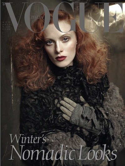 Karen Elson - Ph: Meisel for Vogue Italia Oct 11