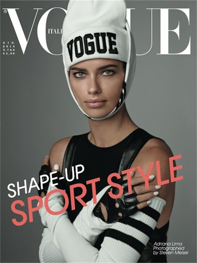 Adriana Lima - Ph. Steven Meisel for Vogue Italia