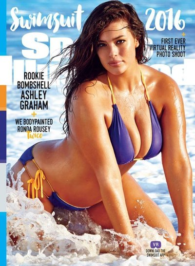 Ashley Graham - Ph: James Macari for Sports Illustrated Swimsuit February 2016