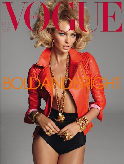 Candice Swanepoel - Photo: Vogue Italia Feb 2011 by Steven Meisel