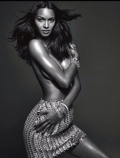 Lais Ribeiro - Ph: Mario Sorrenti for W March 2014