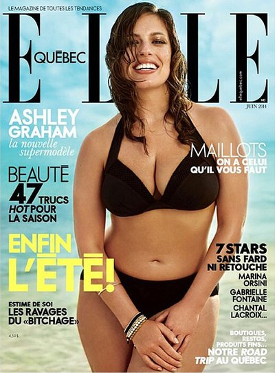 Ashley Graham - Ph: Leda & St. Jacques for Elle Quebec June 2014