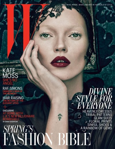 Kate Moss - Ph: Steven Klein for W March 2012