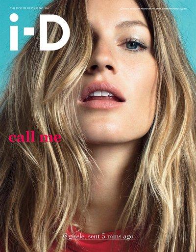 Gisele Bundchen - Ph: Emma Summerton for i-D
