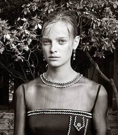 Ine Neefs - Ph. Steven Meisel for Prada Resort 2015