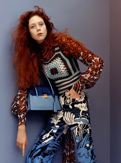 Natalie Westling - Ph. Jamie Hawkesworth for Miu Miu Resort 2015