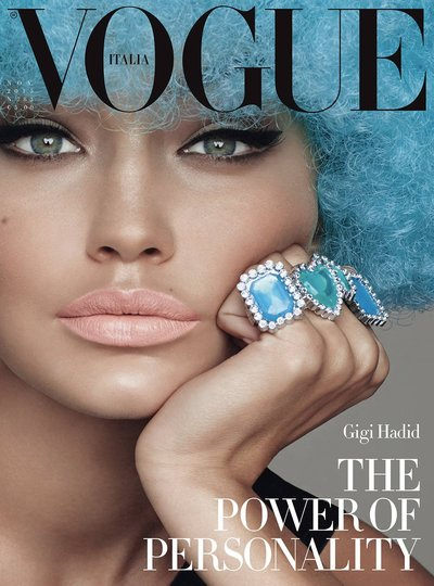 Gigi Hadid - Ph: Steven Meisel for Vogue Italia November 2015