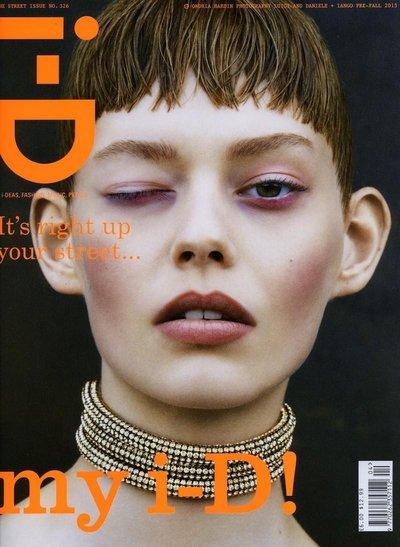 Ondria Hardin - i-D Pre-Fall 2013 Cover by Luigi & Daniele + Iango