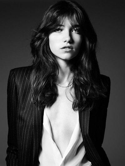 Grace Hartzel - Ph. Hedi Slimane for Saint Laurent Pre Fall 2014