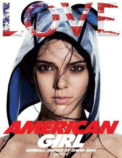 Kendall Jenner - Ph. David Sims for LOVE Magazine
