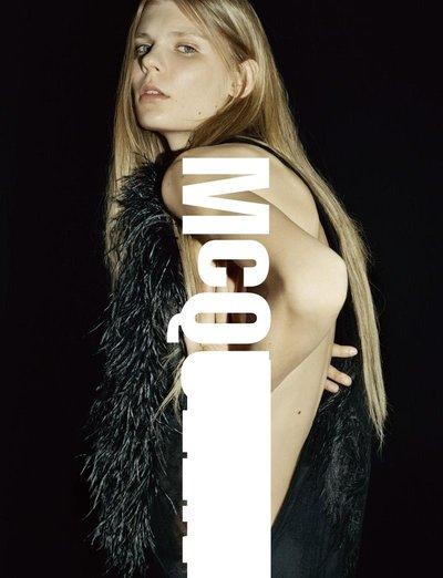 Alexandra Elizabeth Ljadov - Ph: Harley Weir for McQ F/W 15