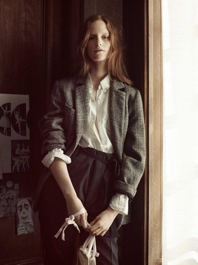 Magdalena Jasek - Ph: Greg Harris for Isabel Marant Etoile F/W 15