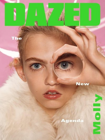 Molly Bair - Ph. Roe Ethridge for Dazed & Confused Fall 2015 Cover