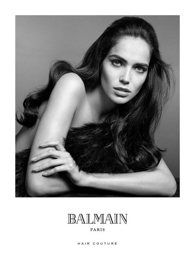 Amanda Wellsh - Ph. Terry Tsiolis for Balmain Hair Couture F/W 15