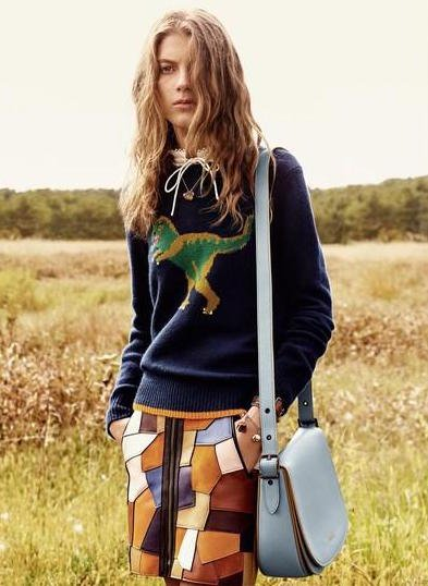Ally Ertel - Ph: Steven Meisel for Coach S/S 16