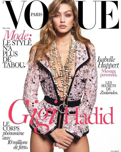 Gigi Hadid - Ph: Mert and Marcus for Vogue Paris March 2016