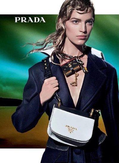 Vanessa Axente - Ph: Steven Meisel for Prada F/W 16