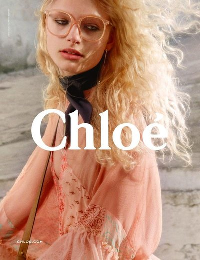 Frederikke Sofie - Ph: Theo Wenner for Chloe F/W 16