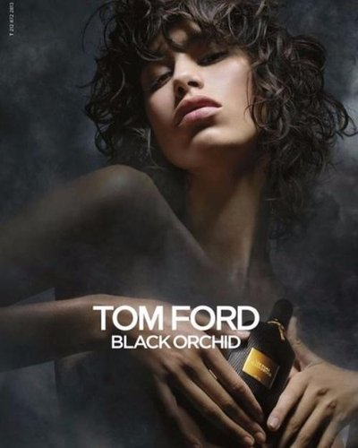 Mica Arganaraz - Ph. for Tom Ford Black Orchid 2016