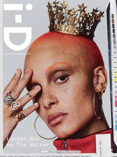 Adwoa Aboah - Ph: Tim Walker for i-D Summer 2017 Cover