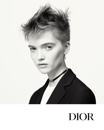 Ruth Bell - Ph: Brigitte Lacombe for Dior S/S 2017