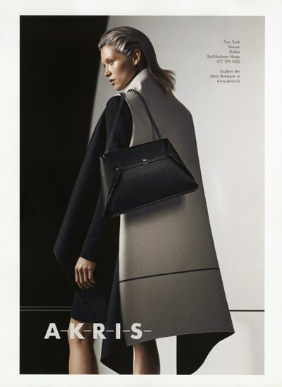 Hana Jirickova - Ph. Lachlan Bailey for Akris