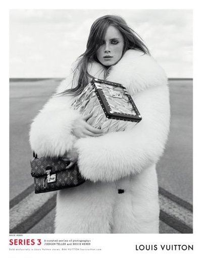Rianne van Rompaey - Ph: Bruce Weber for Louis Vuitton F/W 15
