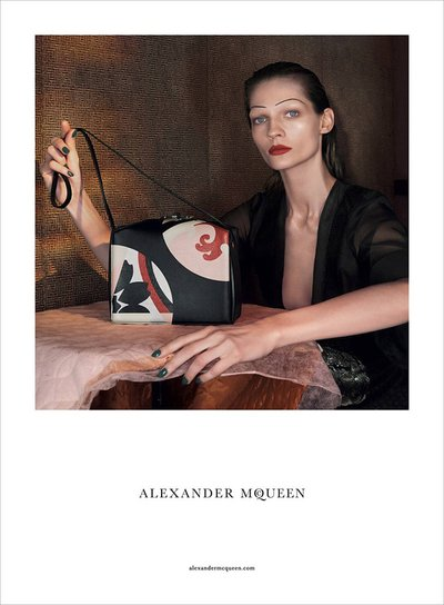 Karolin Wolter - Ph. David Sims for Alexander McQueen S/S 15