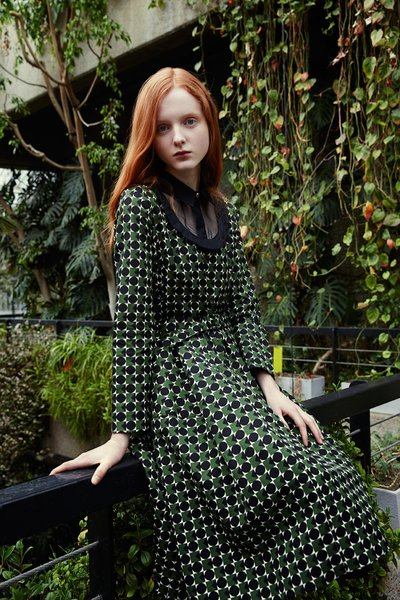 Madison Stubbington - Ph. Yelena Yemchuk for Orla Kiely F/W 15
