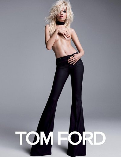 Daphne Groeneveld - Ph. Inez & Vinoodh for Tom Ford S/S 15