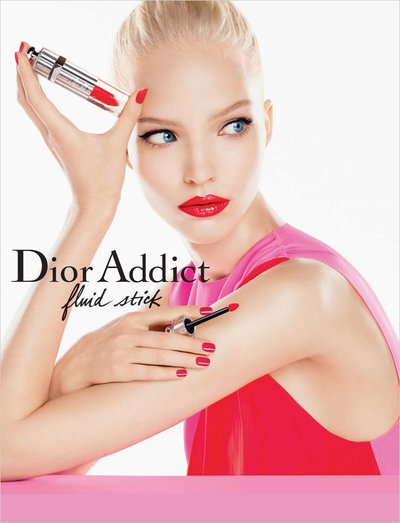 Sasha Luss - Ph. Steven Meisel for Dior Beauty