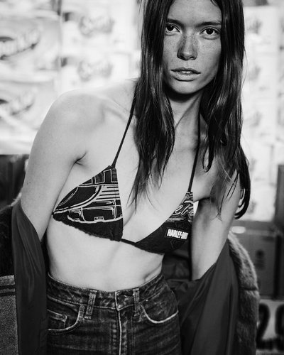 Julia Hafstrom - Ph: Inez & Vinoodh for Self Service S/S 16