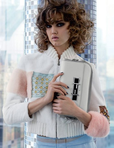 Lindsey Wixson - Photo: Karl Lagerfeld for Fendi S/S 15