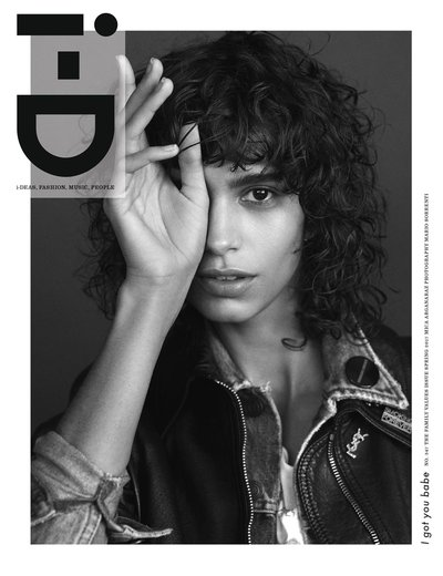 Mica Arganaraz - Ph. Mario Sorrenti for i-D Spring 2017