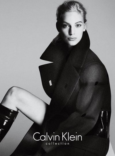 Vanessa Axente - Ph: Mert Alas and Marcus Piggot for Calvin Klein F/W 13