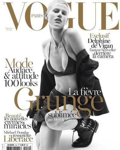 Saskia de Brauw - Ph: Mert Alas and Marcus Piggot for Vogue Paris September 2013