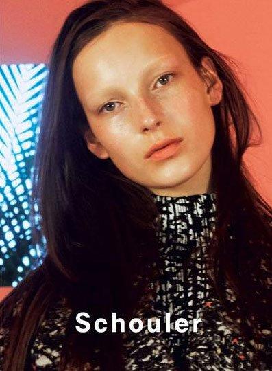 Julia Bergshoeff - Proenza Schouler F/W 2014 by David Sims