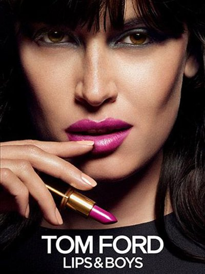 Sabrina Ioffreda - Ph. Tom Munro for Tom Ford Beauty F/W 2014