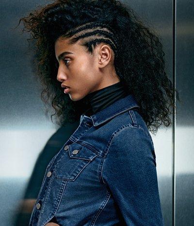 Imaan Hammam - Ph. Mario Sorrenti for Calvin Klein Jeans F/W 15