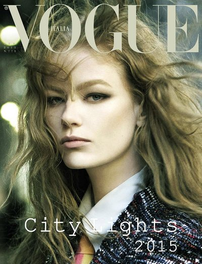 Hollie May Saker - Ph. Steven Meisel for Vogue Italia