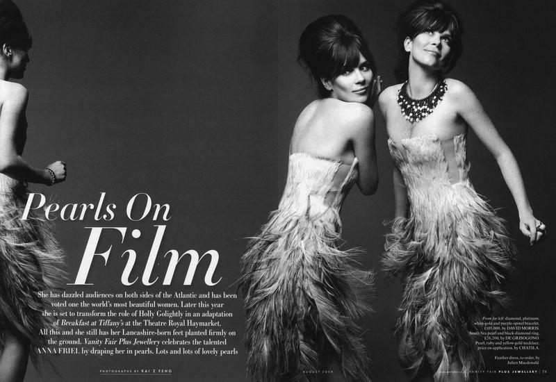 Pearls On Film Vanity Fair Uk
