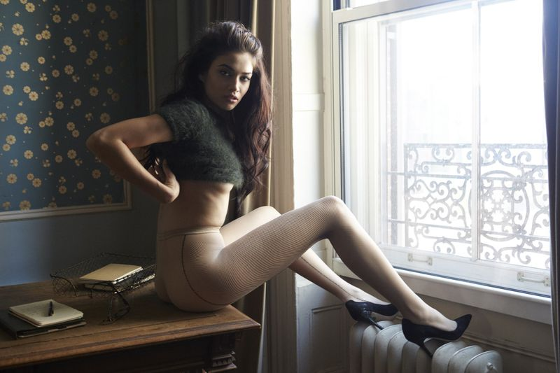 Hot milf barbara bieber pleasing men in her white lingerie - 2 part 8