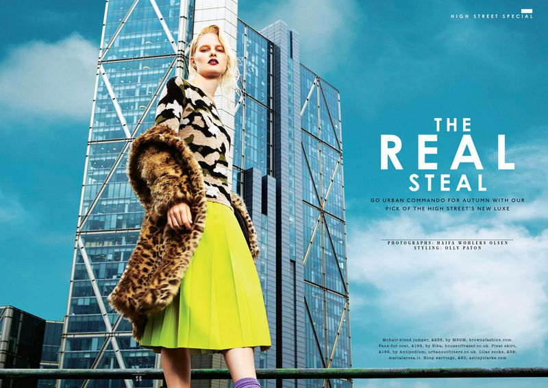 The Real Steal By Haifa W Hlers Olsen Sunday Times Style Magazine