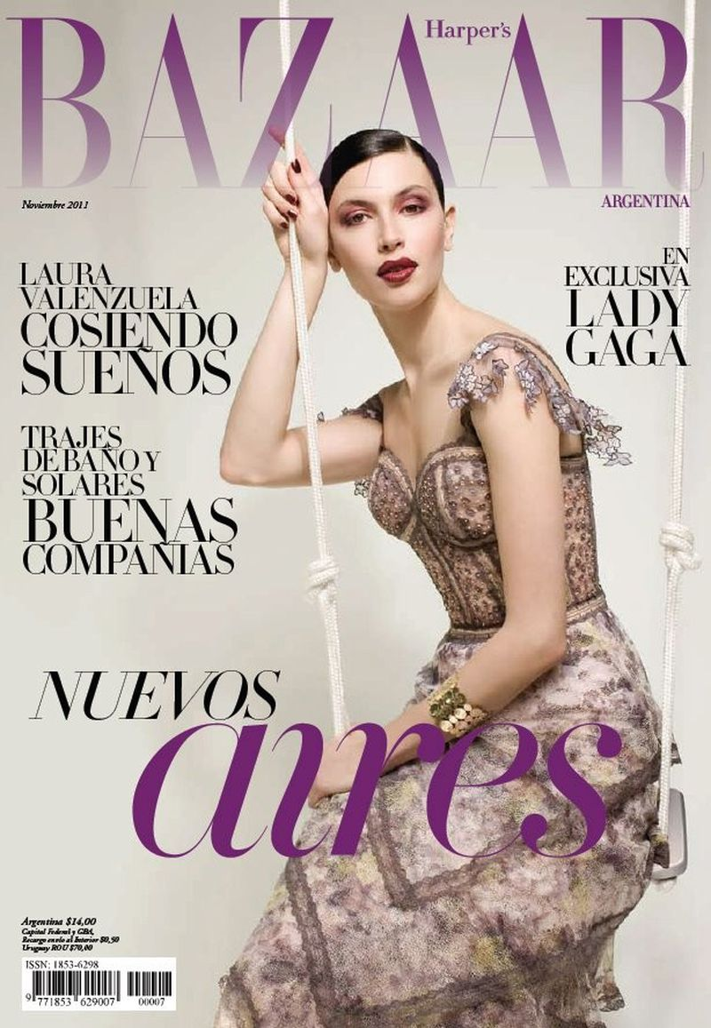 Harper 39 s bazaar argentina october 2011 cover harper 39 s for Bazaar argentina