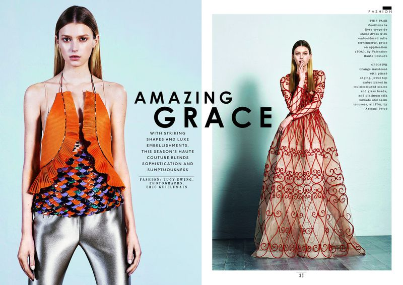 Amazing Grace Sunday Times Style Magazine